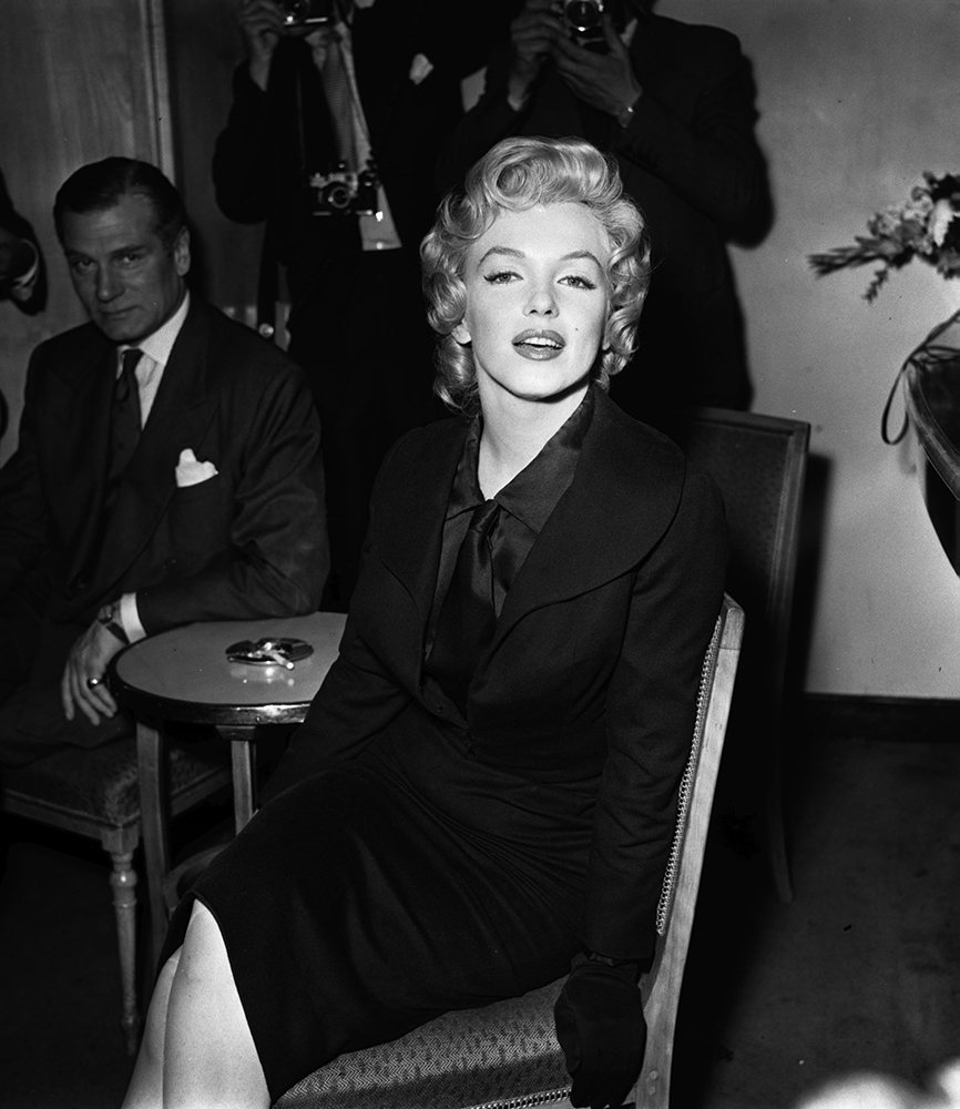 Marilyn Monroe And Laurence Olivier fine art photography