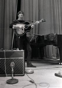 John Lennon of The Beatles pop group