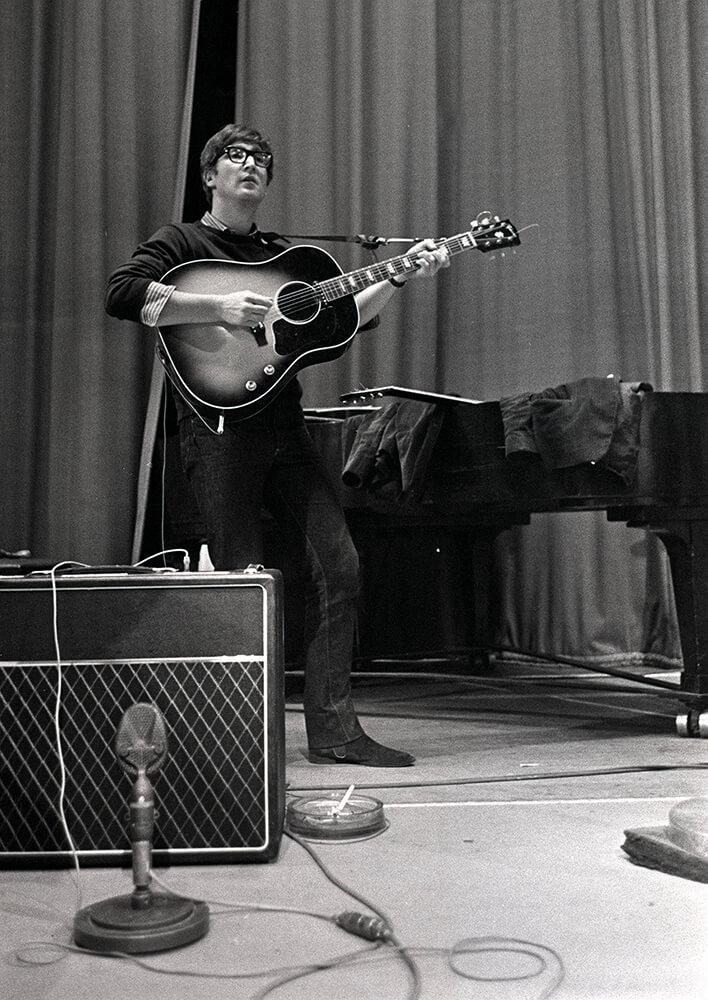John Lennon of The Beatles pop group fine art photography