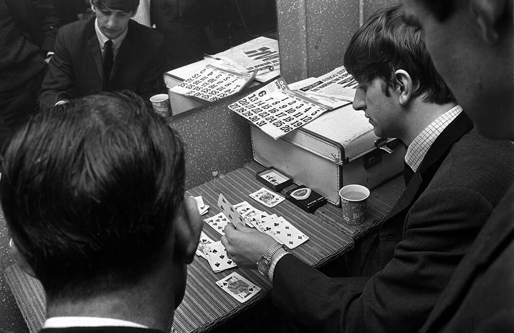 Ringo Starr Playing Cards fine art photography