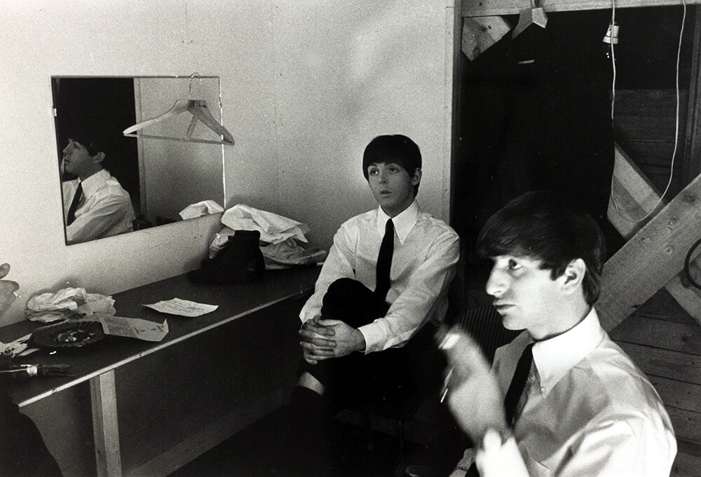 Paul McCartney and Ringo Starr fine art photography