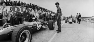 Jim Clark In Lotus