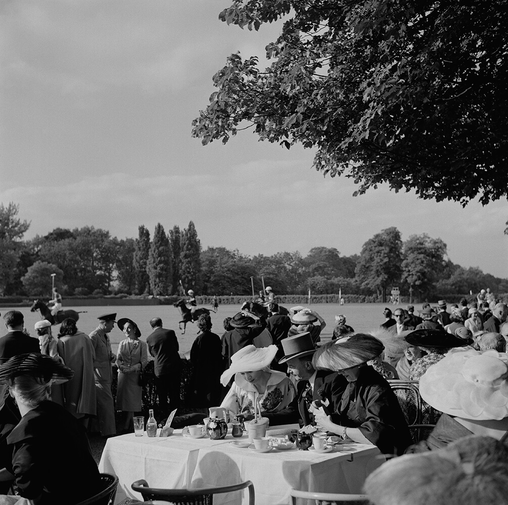 French Polo Crowd fine art photography