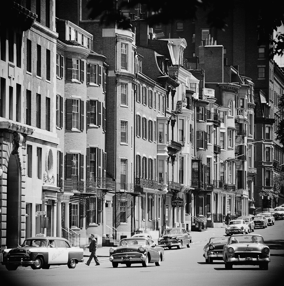 Boston Street Scene fine art photography