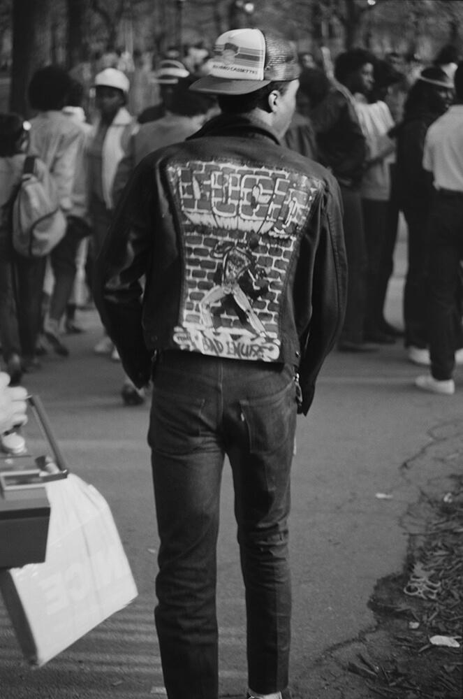 Graffiti Denim Jacket fine art photography
