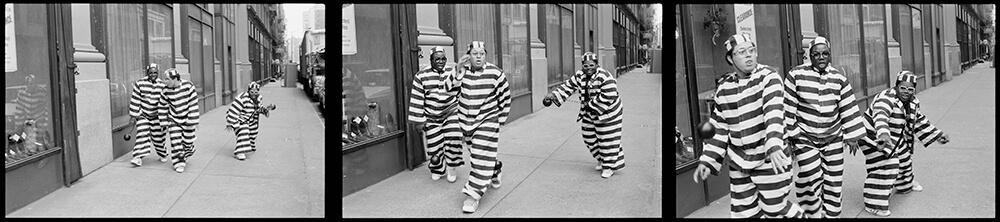 The Fat Boys 'Jail House Rap' – Triptych fine art photography