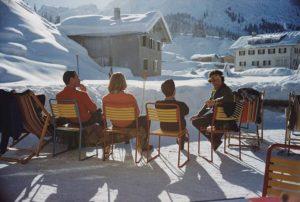 Relaxing in Lech