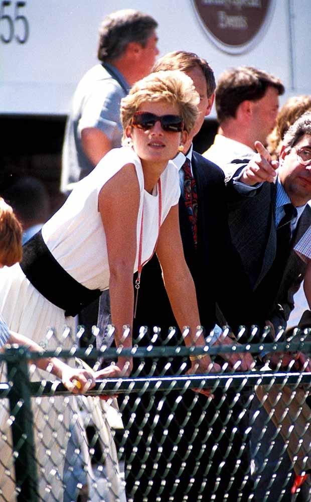 Princess Diana, Silverstone, British Grand Prix, Princessdianaretro fine art photography