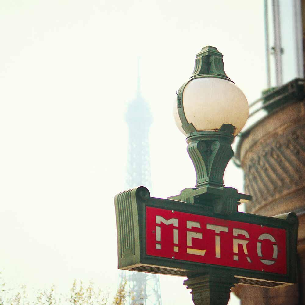 Metro Sing Paris fine art photography