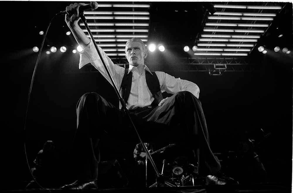 David Bowie On Stage At Wembley from Heroes – The Exhibition fine art photography