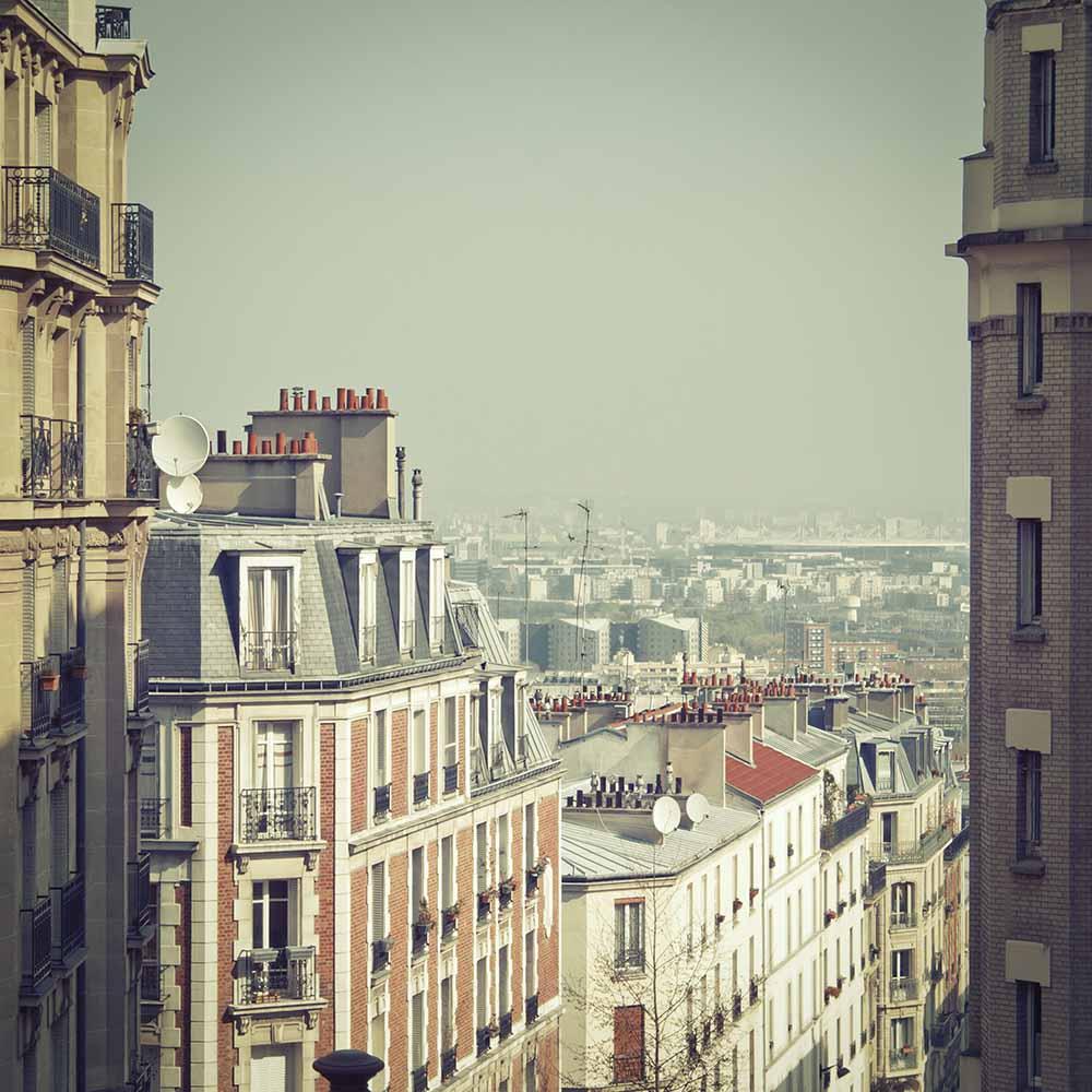 Paris Rooftops fine art photography