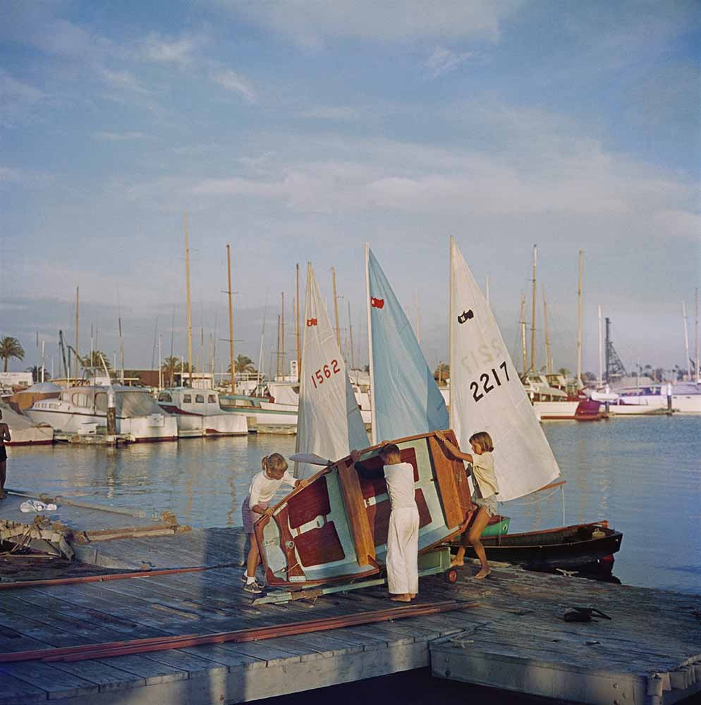 Sailing Dinghy fine art photography