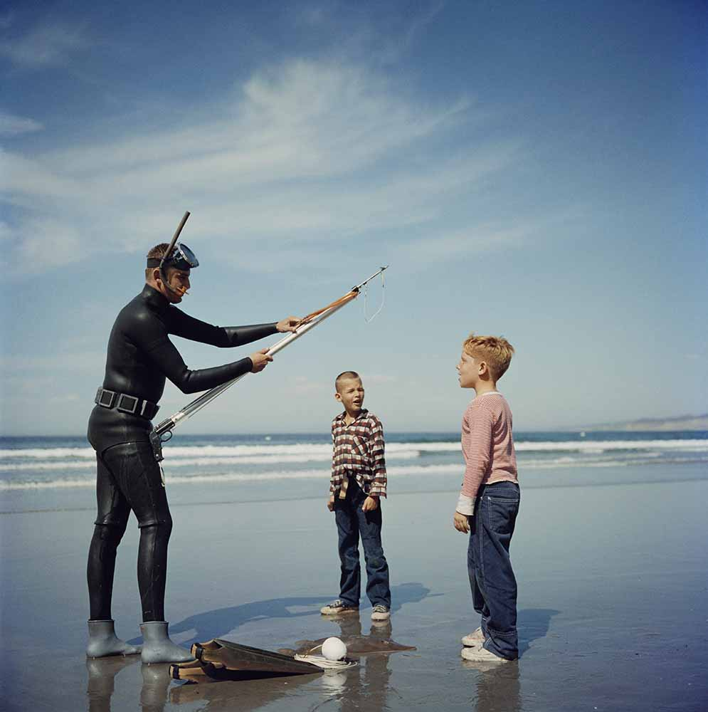 Spear Fishing In San Diego fine art photography