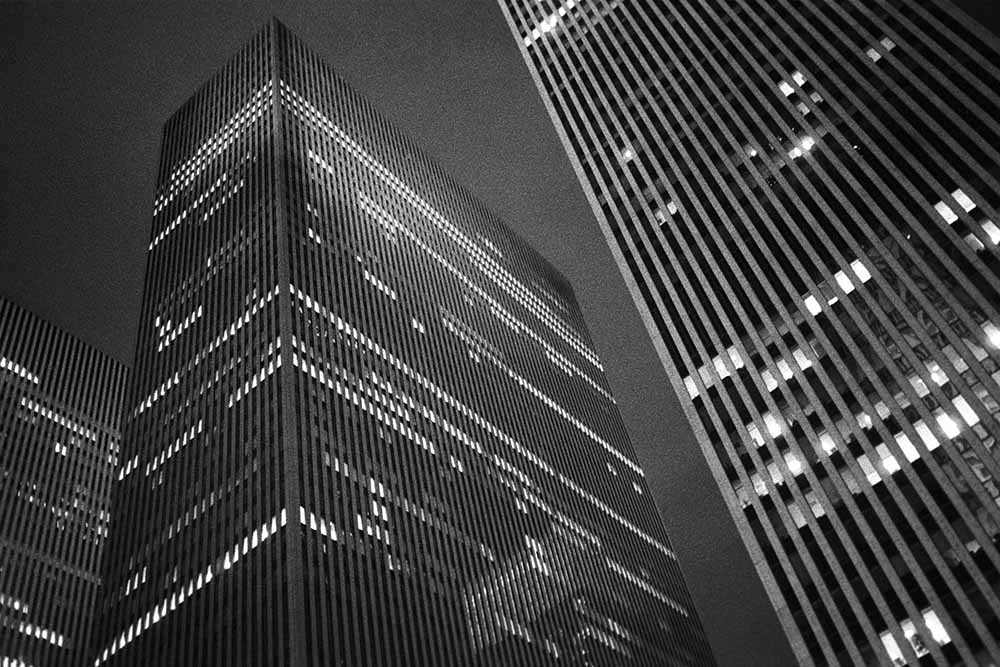 Skyscrapers at Night fine art photography