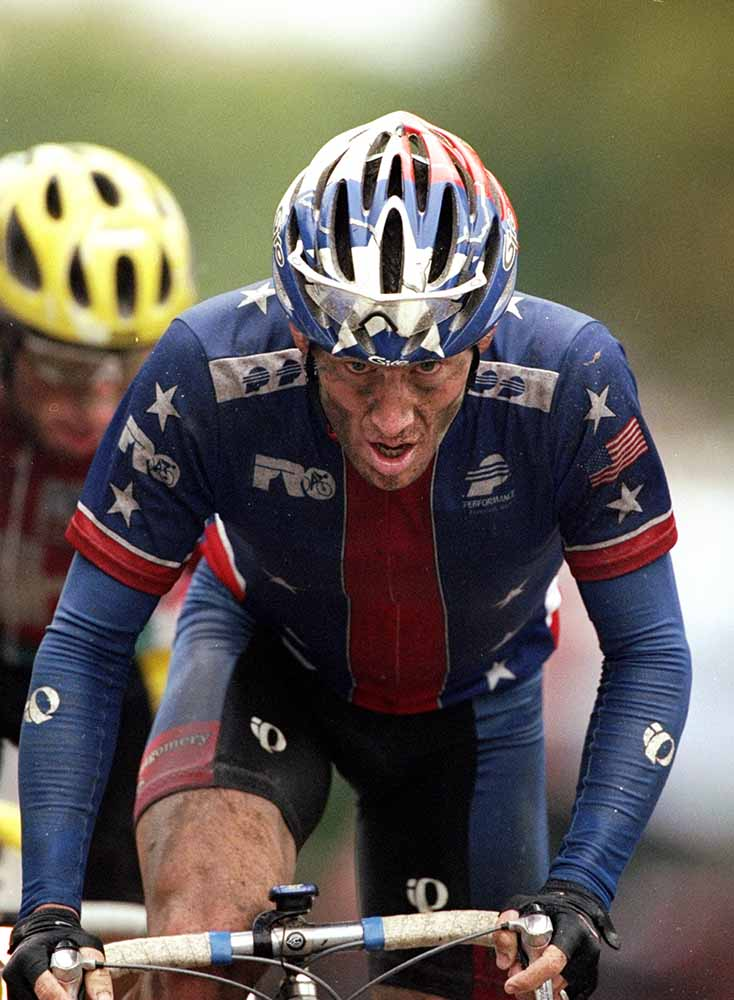 Lance Armstrong fine art photography