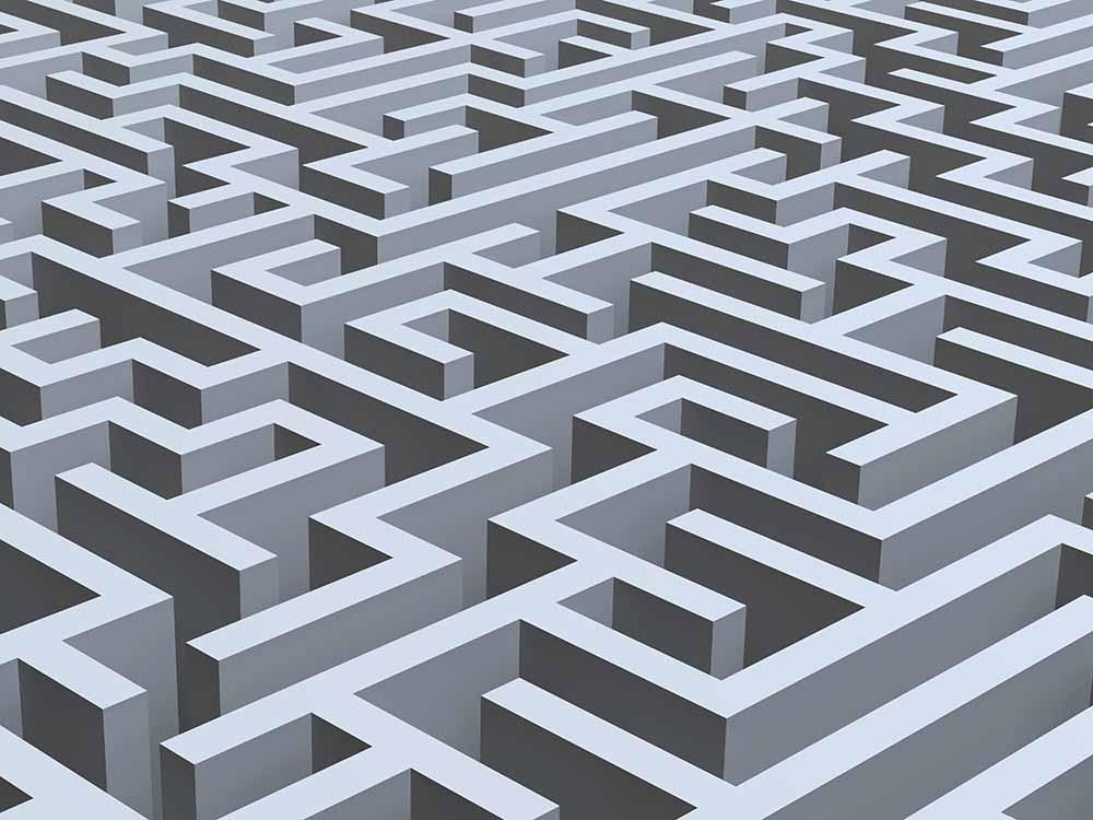 Maze, artwork fine art photography