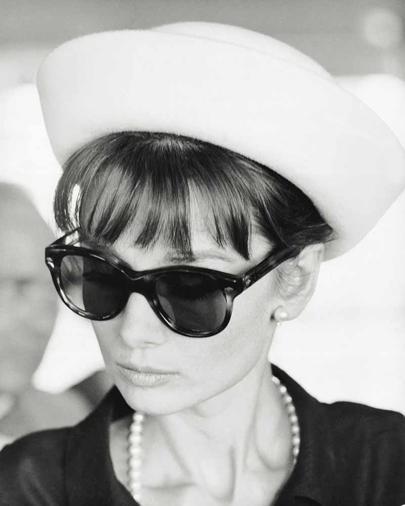 Portrait Of Audrey Hepburn fine art photography