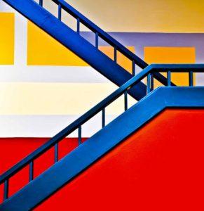 Colorful climb