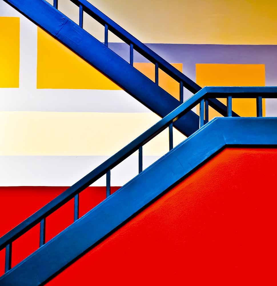 Colorful climb fine art photography