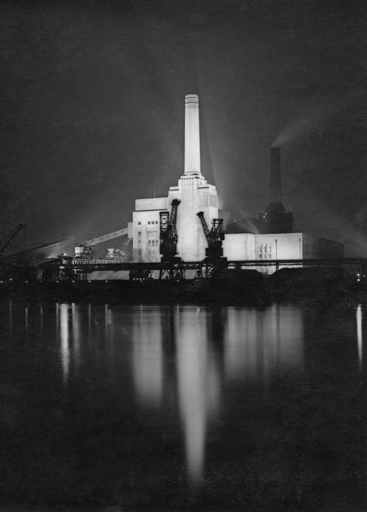 Battersea Power Station from London – River Thames fine art photography
