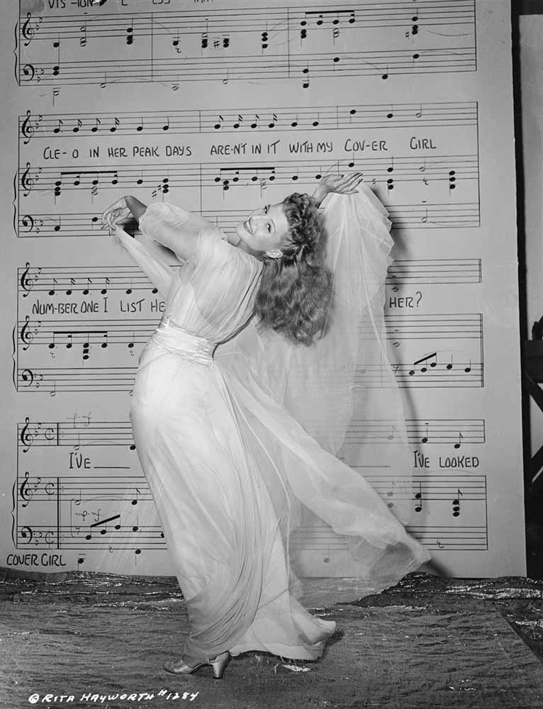Rita Hayworth fine art photography