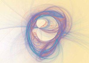 Soft swirling pastel fractal