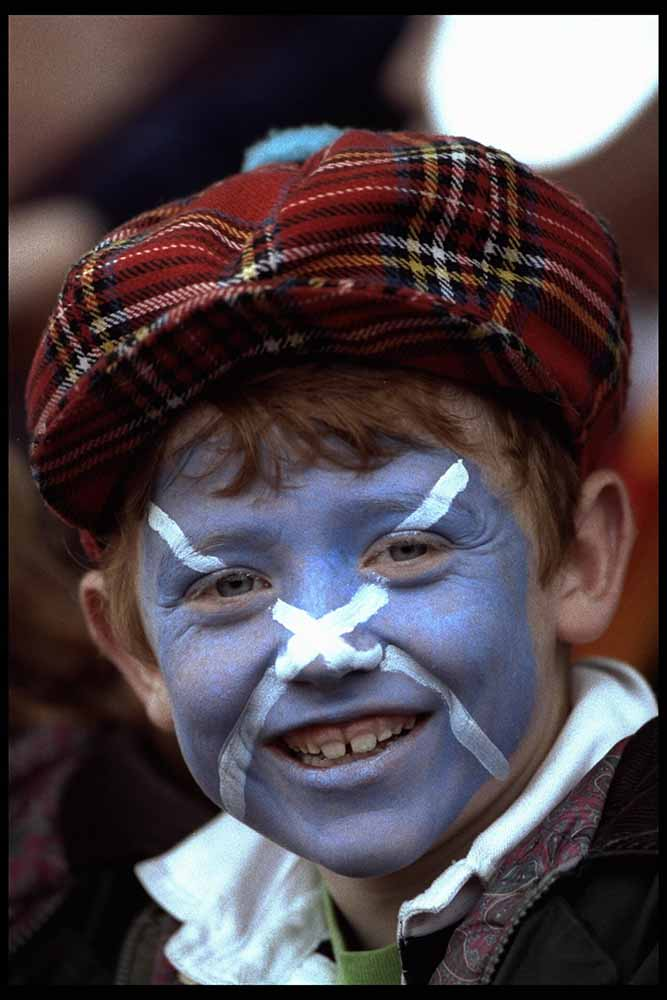 A FAN FROM SCOTLAND RWC SEMI-FIN fine art photography