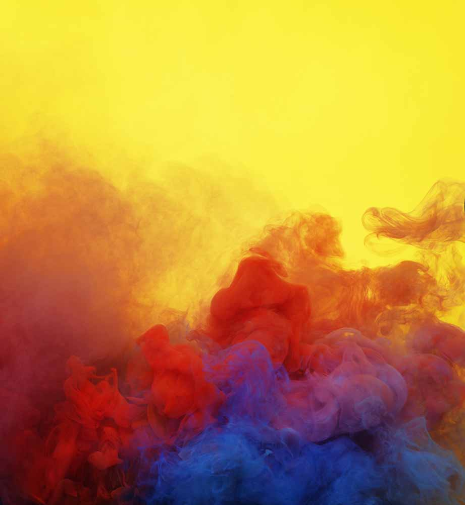 Colored smoke fine art photography
