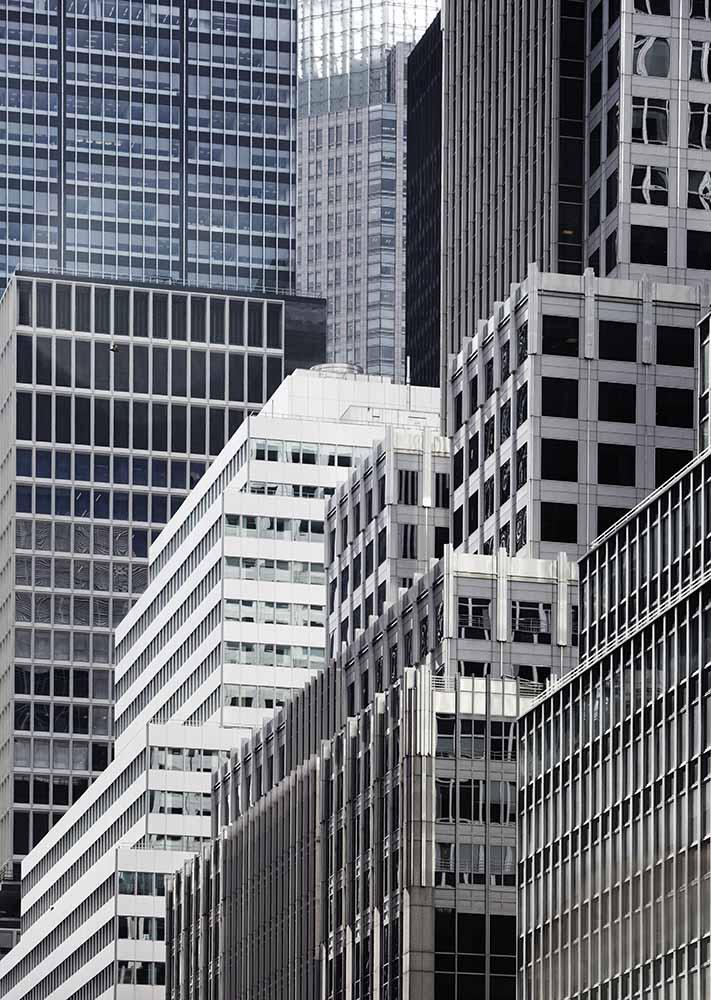 Skyline of New York fine art photography