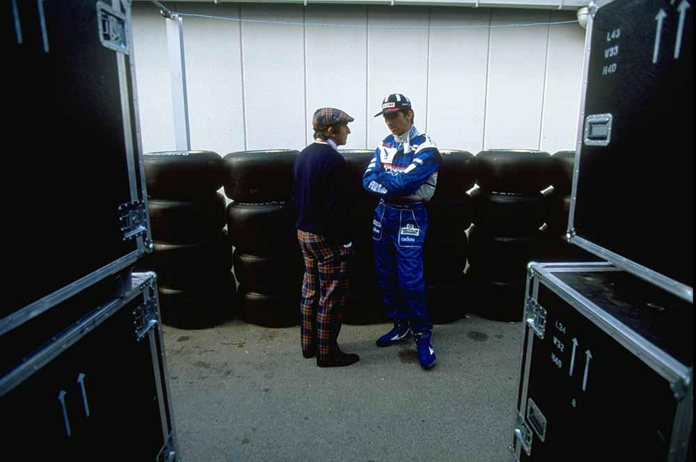 Jackie Stewart and Damon Hill fine art photography