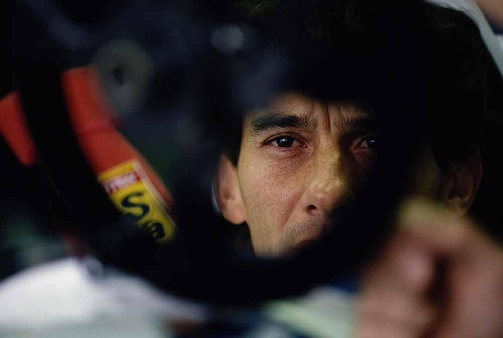 Ayrton Senna fine art photography