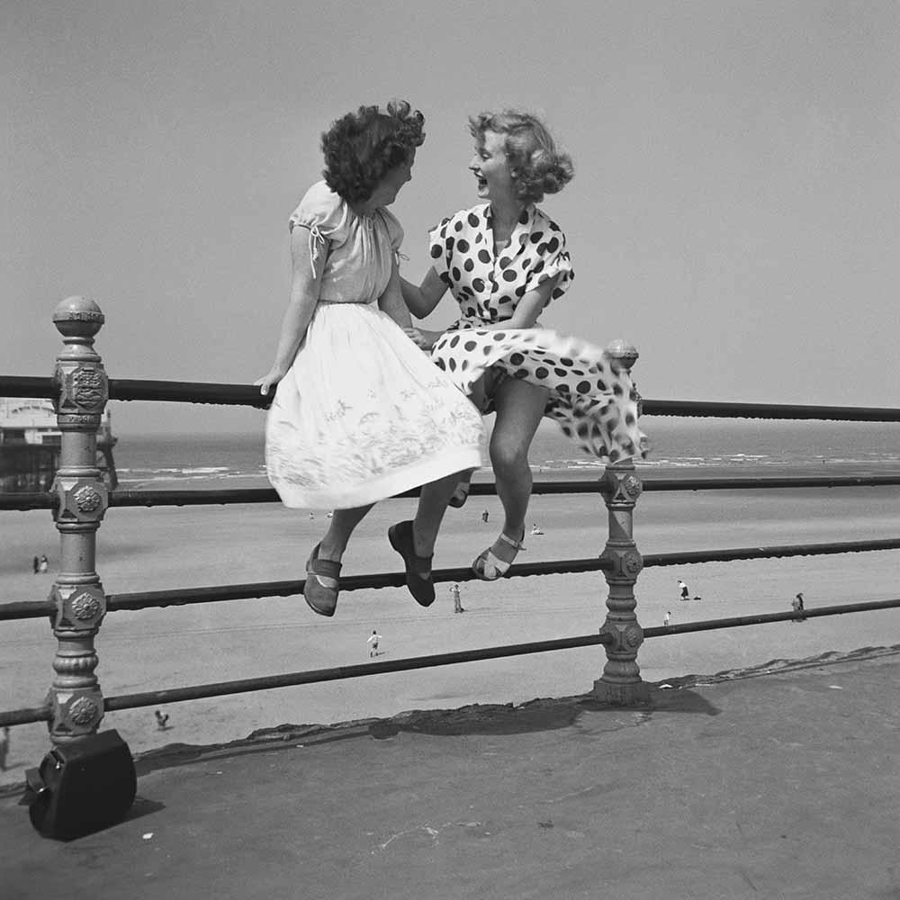 Blackpool Railings fine art photography