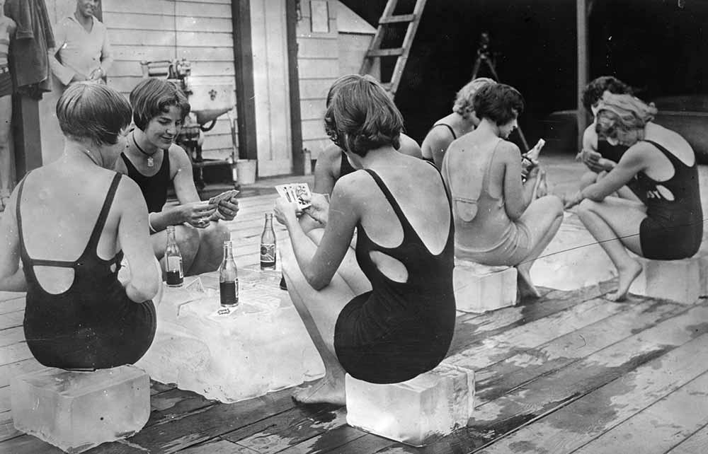 Ice Maidens fine art photography