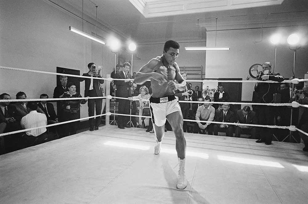 Ali In Training from 1960s fine art photography