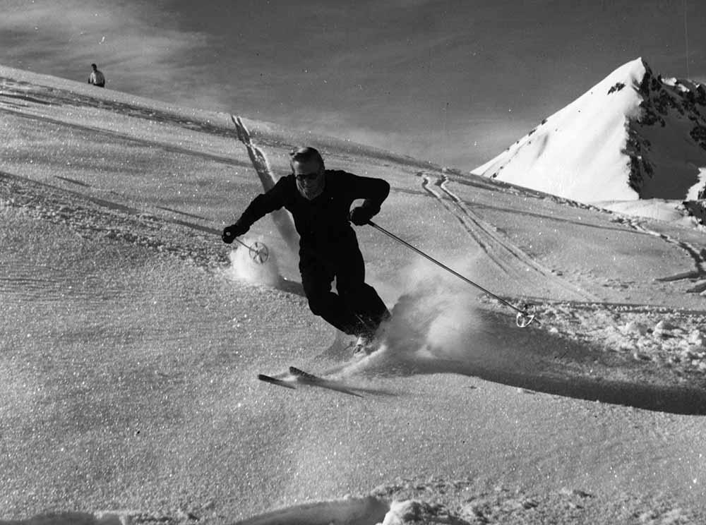 Ski Run fine art photography