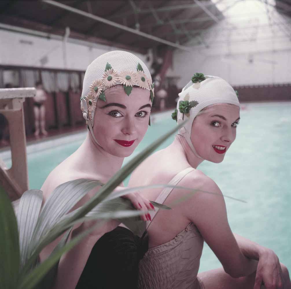 Swimming Hats fine art photography