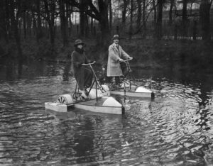 Bicycle Boats