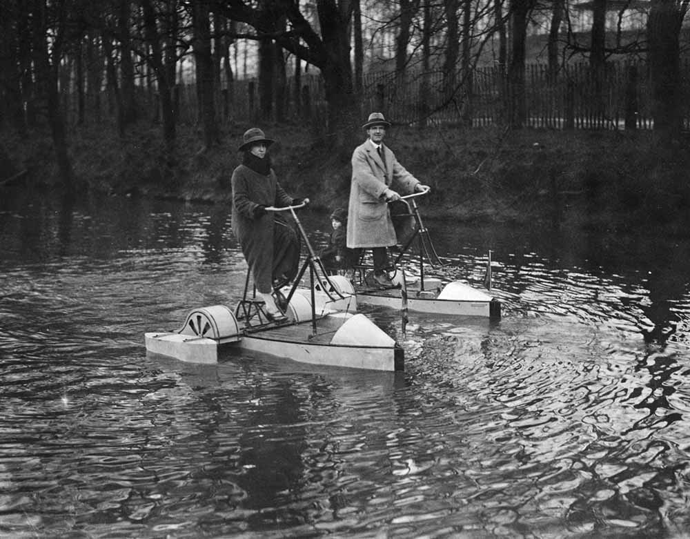 Bicycle Boats fine art photography
