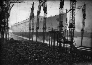 Queen Mary's Launch