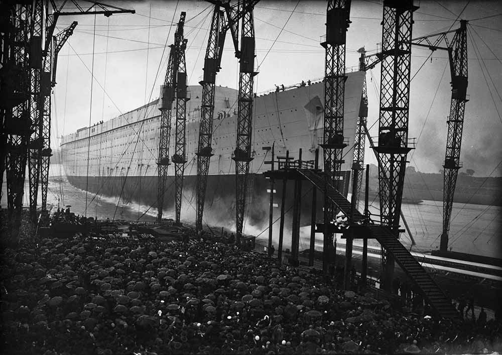 Queen Mary's Launch fine art photography