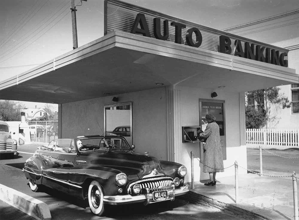 Auto Banking fine art photography