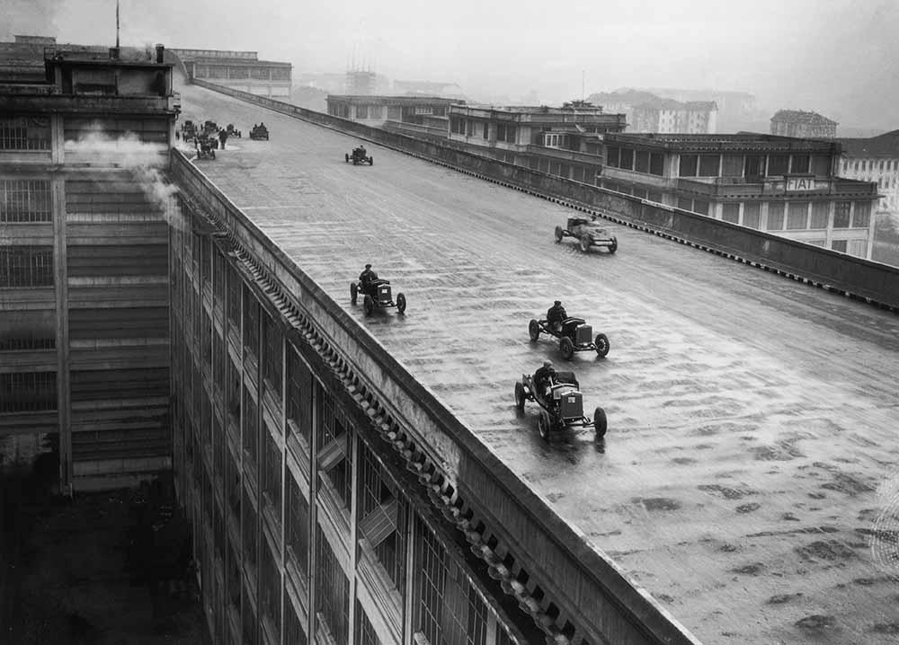 Rooftop Racing fine art photography