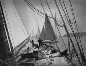 Aboard Yacht