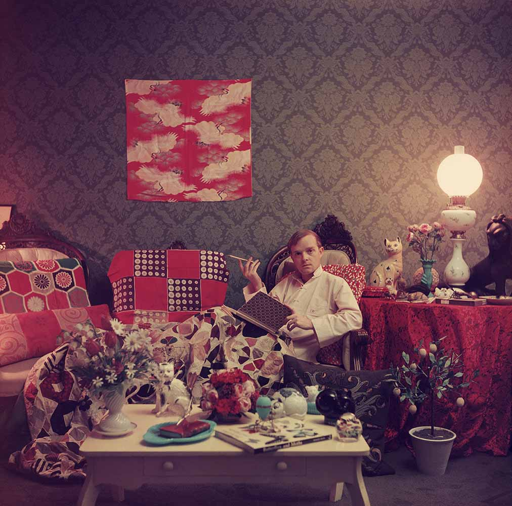 Capote At Home fine art photography