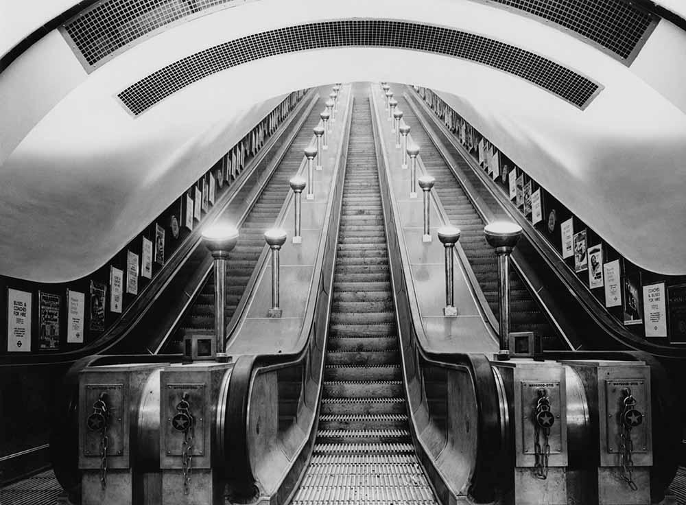 Underground Escalator fine art photography