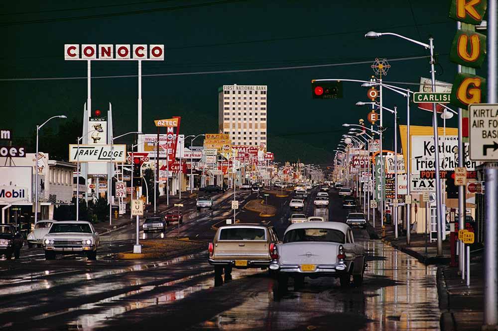 Route 66 Albuquerque fine art photography