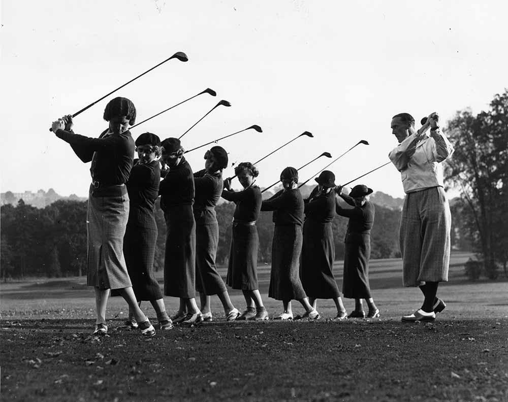 Golf Lesson fine art photography