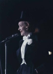 Top-Hatted Chanteuse