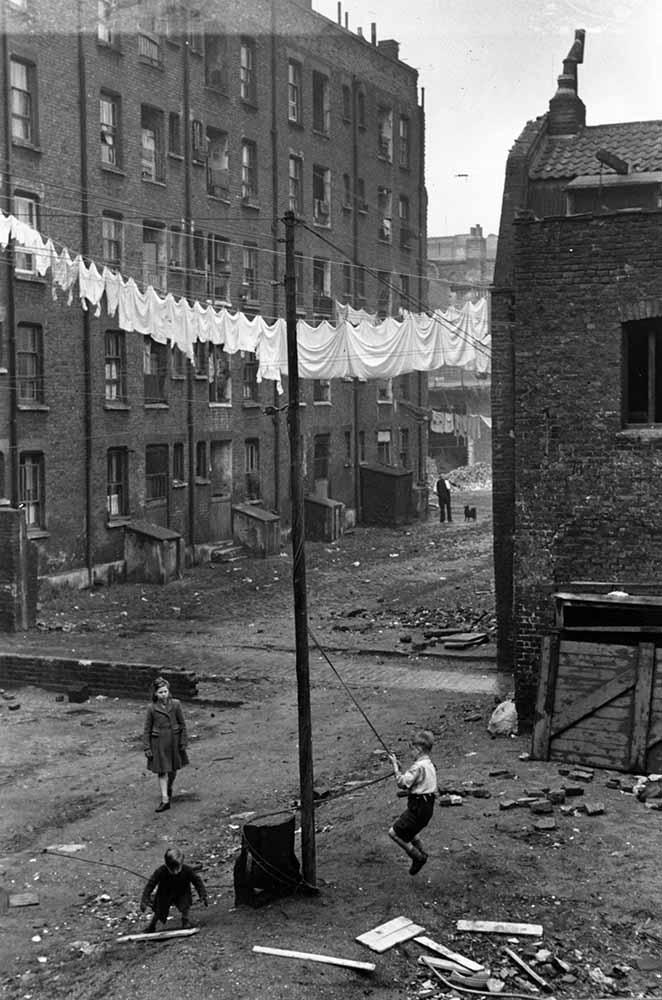 East End Slum fine art photography