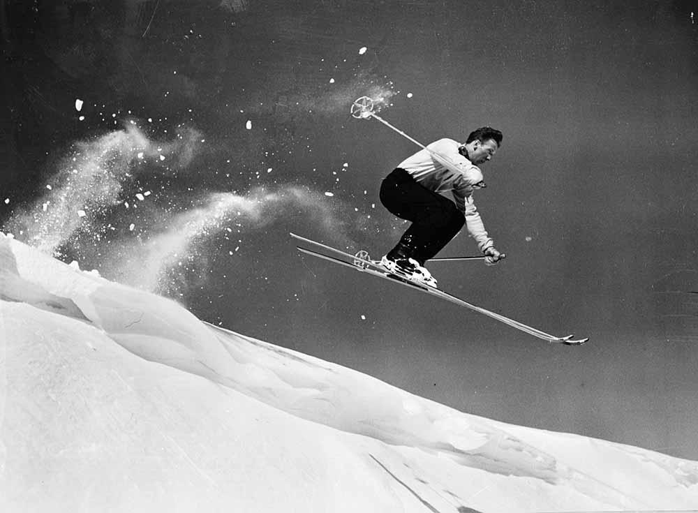 Sun Valley Skier fine art photography